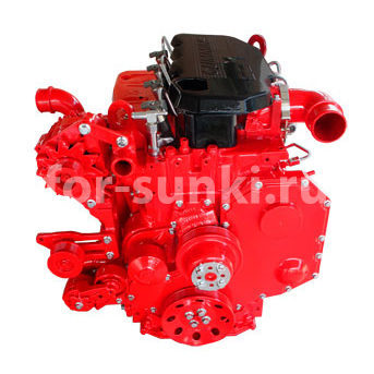 Двигатель Cummins 4ISBE-6ISBE (КАМАЗ, НЕФАЗ)