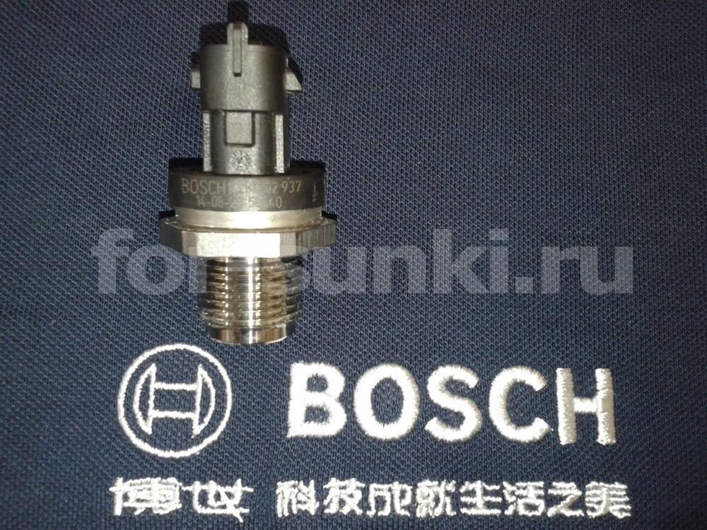 Купить датчик давления топлива рампы 0281002937 Bosch в Краснодаре