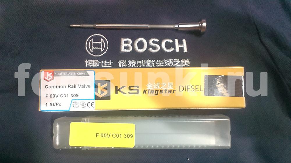 Клапан форсунки Bosch бош F00VC01309 mersedes