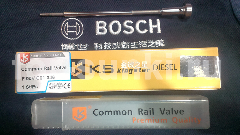 Клапан форсунки Bosch бош F00VC01346 chevrolet