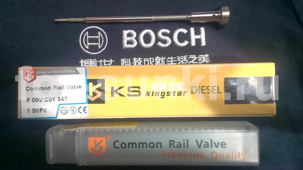 Клапан форсунки Bosch F00VC01347 hyundai